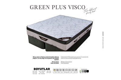 Green Plus Vısco Yatak