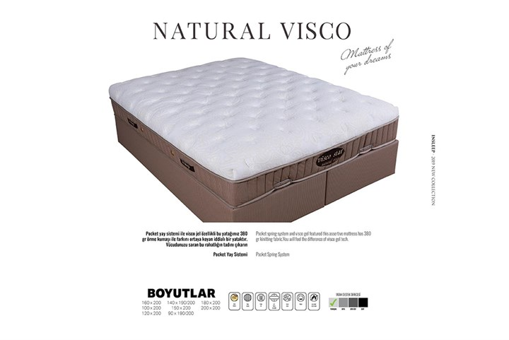 Naturel Visco Yatak